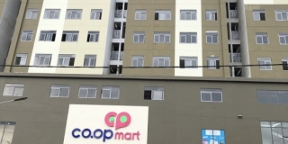 Tiến độ căn hộ saigonhomes tháng 5/2019. Coop Mart đã hoạt động